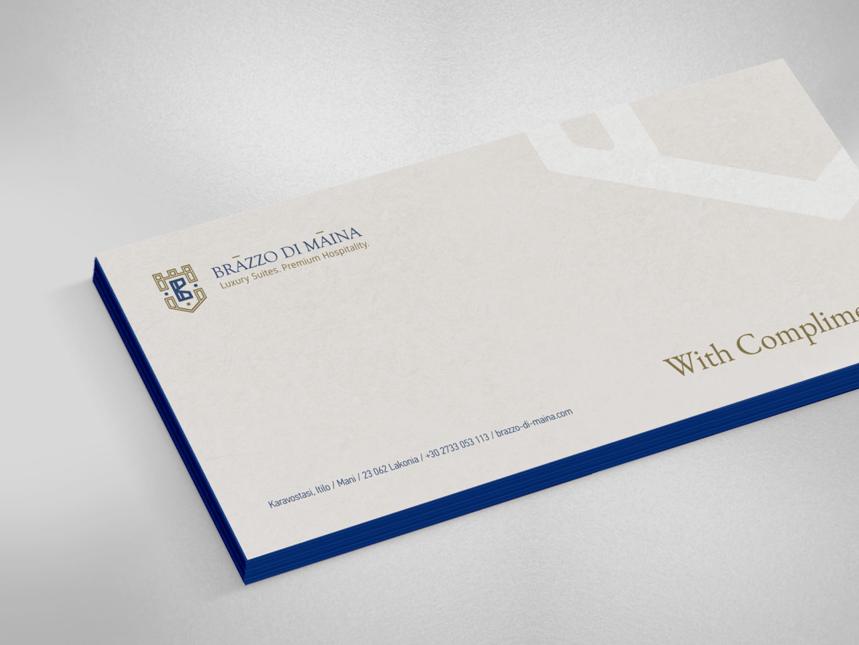 brazzo di maina envelopes