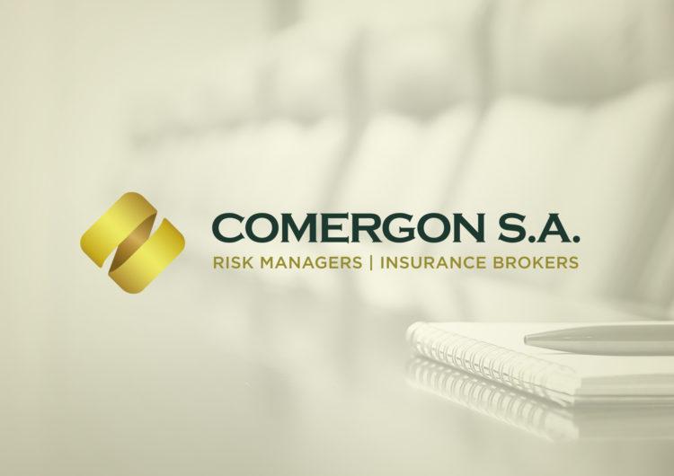 Comergon Risk Managers logo design