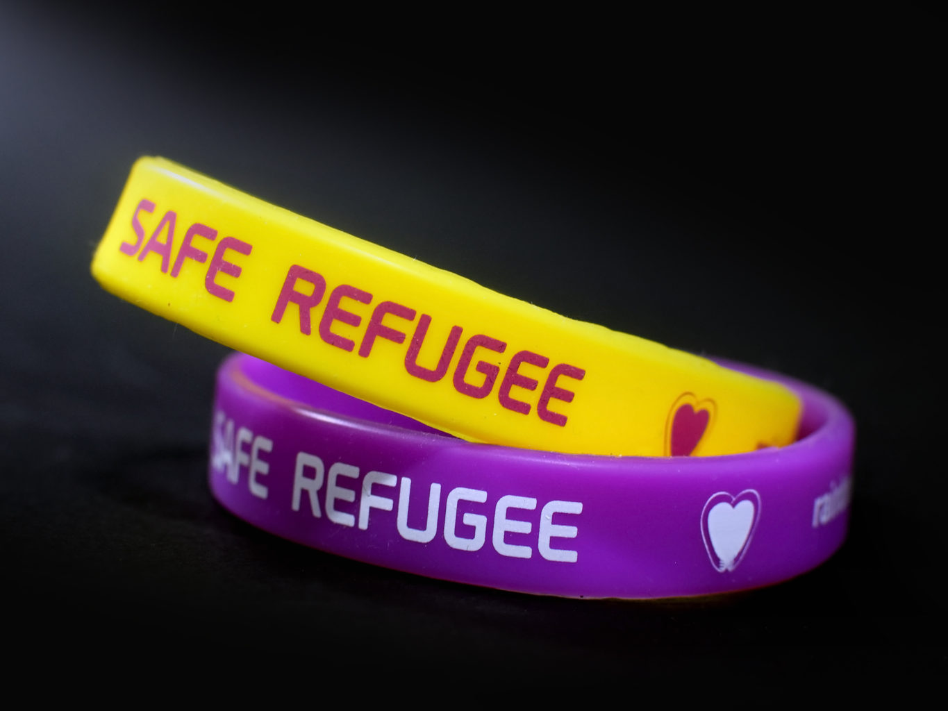 SolidarityNow - Solidarity Center silicone bracelets