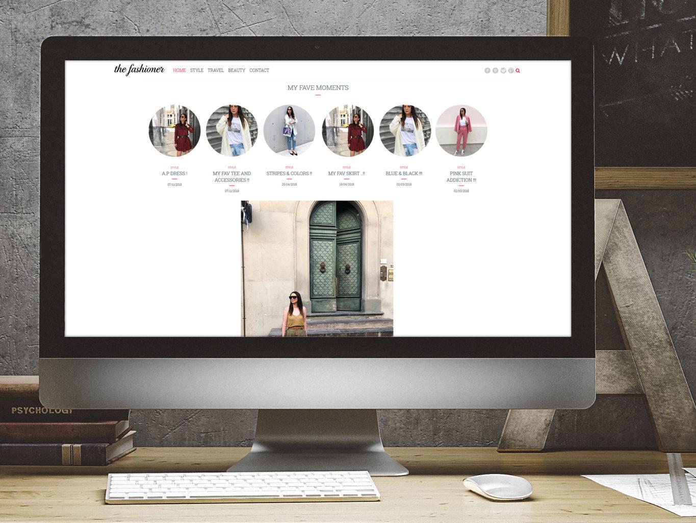 the fashioner website