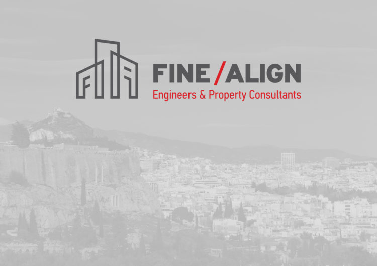 FINE / ALIGN Engineers & Law Consultants logo design